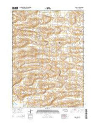 Argo Hill Nebraska Current topographic map, 1:24000 scale, 7.5 X 7.5 Minute, Year 2014