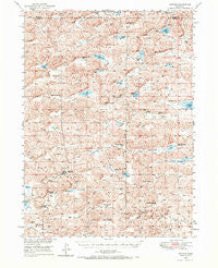 Arthur Nebraska Historical topographic map, 1:62500 scale, 15 X 15 Minute, Year 1949