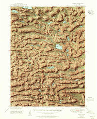 Ashby Nebraska Historical topographic map, 1:62500 scale, 15 X 15 Minute, Year 1949