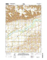 Belgrade SE Nebraska Current topographic map, 1:24000 scale, 7.5 X 7.5 Minute, Year 2014