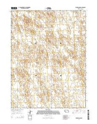Benkelman NW Nebraska Current topographic map, 1:24000 scale, 7.5 X 7.5 Minute, Year 2014