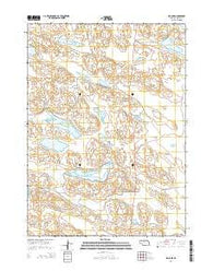 Big Lake Nebraska Current topographic map, 1:24000 scale, 7.5 X 7.5 Minute, Year 2014