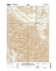 Boiling Spring Nebraska Current topographic map, 1:24000 scale, 7.5 X 7.5 Minute, Year 2014