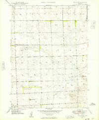 Box Butte Nebraska Historical topographic map, 1:24000 scale, 7.5 X 7.5 Minute, Year 1949
