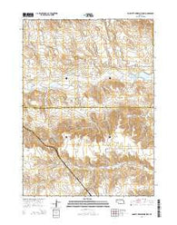 Box Butte Reservoir West Nebraska Current topographic map, 1:24000 scale, 7.5 X 7.5 Minute, Year 2014