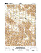 Brewster NW Nebraska Current topographic map, 1:24000 scale, 7.5 X 7.5 Minute, Year 2014 from Nebraska Map Store