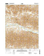 Brewster SW Nebraska Current topographic map, 1:24000 scale, 7.5 X 7.5 Minute, Year 2014 from Nebraska Map Store