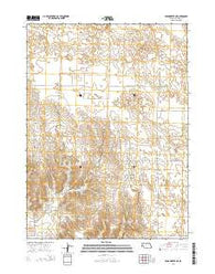 Broadwater NE Nebraska Current topographic map, 1:24000 scale, 7.5 X 7.5 Minute, Year 2014