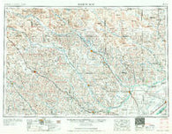 Broken Bow Nebraska Historical topographic map, 1:250000 scale, 1 X 2 Degree, Year 1955