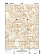 Bucktail Lake Nebraska Current topographic map, 1:24000 scale, 7.5 X 7.5 Minute, Year 2014 from Nebraska Map Store