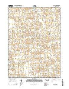 Bucktail Lake Nebraska Current topographic map, 1:24000 scale, 7.5 X 7.5 Minute, Year 2014