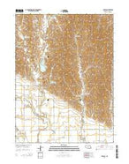 Buffalo Nebraska Current topographic map, 1:24000 scale, 7.5 X 7.5 Minute, Year 2014 from Nebraska Map Store