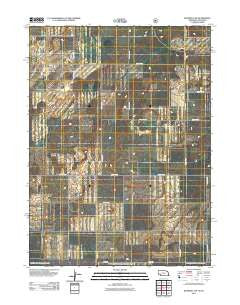 Bushnell SW Nebraska Historical topographic map, 1:24000 scale, 7.5 X 7.5 Minute, Year 2011