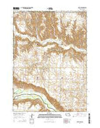 Butte NW Nebraska Current topographic map, 1:24000 scale, 7.5 X 7.5 Minute, Year 2014 from Nebraska Map Store