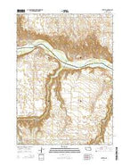 Butte SE Nebraska Current topographic map, 1:24000 scale, 7.5 X 7.5 Minute, Year 2014 from Nebraska Map Store