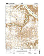 Butte SW Nebraska Current topographic map, 1:24000 scale, 7.5 X 7.5 Minute, Year 2014 from Nebraska Map Store