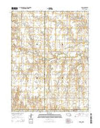 Byron Nebraska Current topographic map, 1:24000 scale, 7.5 X 7.5 Minute, Year 2014 from Nebraska Map Store