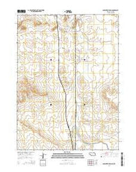 Carpenter Ranch Nebraska Current topographic map, 1:24000 scale, 7.5 X 7.5 Minute, Year 2014