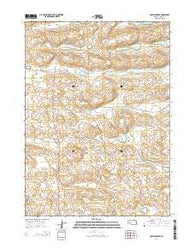 Carrico Lakes Nebraska Current topographic map, 1:24000 scale, 7.5 X 7.5 Minute, Year 2014