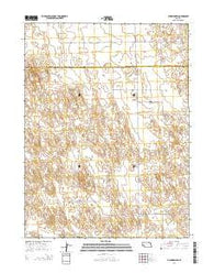 Champion SW Nebraska Current topographic map, 1:24000 scale, 7.5 X 7.5 Minute, Year 2014