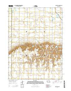 Columbus SE Nebraska Current topographic map, 1:24000 scale, 7.5 X 7.5 Minute, Year 2014