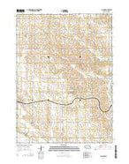 Concord Nebraska Current topographic map, 1:24000 scale, 7.5 X 7.5 Minute, Year 2014 from Nebraska Map Store