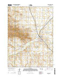 Crawford Nebraska Current topographic map, 1:24000 scale, 7.5 X 7.5 Minute, Year 2014