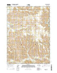 Creston Nebraska Current topographic map, 1:24000 scale, 7.5 X 7.5 Minute, Year 2014