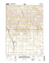 Dalton Nebraska Current topographic map, 1:24000 scale, 7.5 X 7.5 Minute, Year 2014