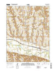 Edison Nebraska Current topographic map, 1:24000 scale, 7.5 X 7.5 Minute, Year 2014