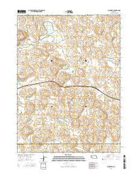 Ellsworth Nebraska Current topographic map, 1:24000 scale, 7.5 X 7.5 Minute, Year 2014