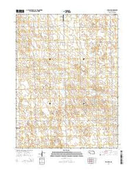 Elsie NW Nebraska Current topographic map, 1:24000 scale, 7.5 X 7.5 Minute, Year 2014