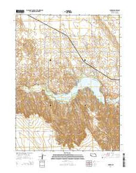 Enders Nebraska Current topographic map, 1:24000 scale, 7.5 X 7.5 Minute, Year 2014