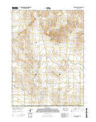 Erdman Ranch Nebraska Current topographic map, 1:24000 scale, 7.5 X 7.5 Minute, Year 2014