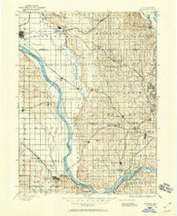 Fremont Nebraska Historical topographic map, 1:125000 scale, 30 X 30 Minute, Year 1893