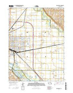 Fremont East Nebraska Current topographic map, 1:24000 scale, 7.5 X 7.5 Minute, Year 2014 from Nebraska Map Store