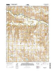 Gladstone Nebraska Current topographic map, 1:24000 scale, 7.5 X 7.5 Minute, Year 2014