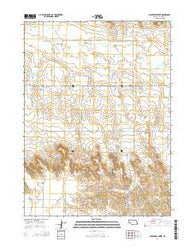 Hackberry Creek Nebraska Current topographic map, 1:24000 scale, 7.5 X 7.5 Minute, Year 2014