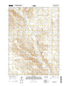 Harrison SW Nebraska Current topographic map, 1:24000 scale, 7.5 X 7.5 Minute, Year 2014