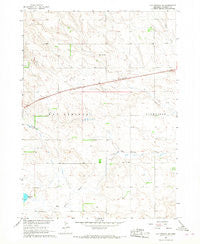 Hay Springs NE Nebraska Historical topographic map, 1:24000 scale, 7.5 X 7.5 Minute, Year 1966