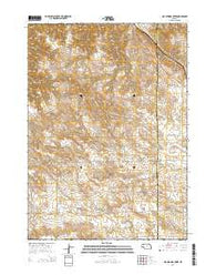 Hay Springs Creek Nebraska Current topographic map, 1:24000 scale, 7.5 X 7.5 Minute, Year 2014