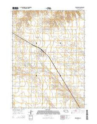 Hemingford Nebraska Current topographic map, 1:24000 scale, 7.5 X 7.5 Minute, Year 2014