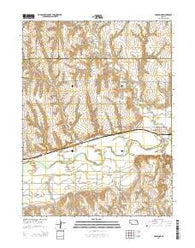 Holbrook Nebraska Current topographic map, 1:24000 scale, 7.5 X 7.5 Minute, Year 2014