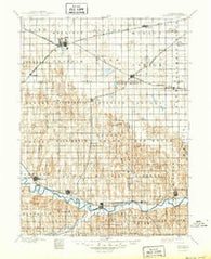 Holdrege Nebraska Historical topographic map, 1:125000 scale, 30 X 30 Minute, Year 1896