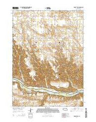 Huddle Table Nebraska Current topographic map, 1:24000 scale, 7.5 X 7.5 Minute, Year 2014