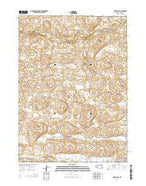 Indian Hill Nebraska Current topographic map, 1:24000 scale, 7.5 X 7.5 Minute, Year 2014 from Nebraska Map Store