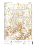 Indian Springs Nebraska Current topographic map, 1:24000 scale, 7.5 X 7.5 Minute, Year 2014 from Nebraska Map Store