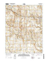Juniata Nebraska Current topographic map, 1:24000 scale, 7.5 X 7.5 Minute, Year 2014