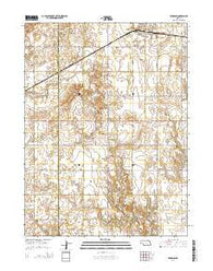 Kenesaw Nebraska Current topographic map, 1:24000 scale, 7.5 X 7.5 Minute, Year 2014