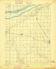 Kenesaw Nebraska Historical topographic map, 1:62500 scale, 15 X 15 Minute, Year 1894